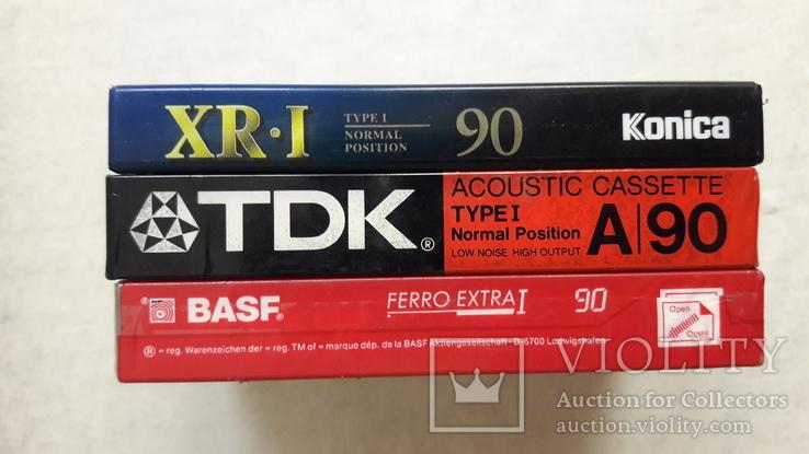 Аудио кассеты новые ТDK , BASF , Konika, фото №8