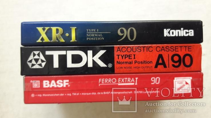 Аудио кассеты новые ТDK , BASF , Konika, фото №9