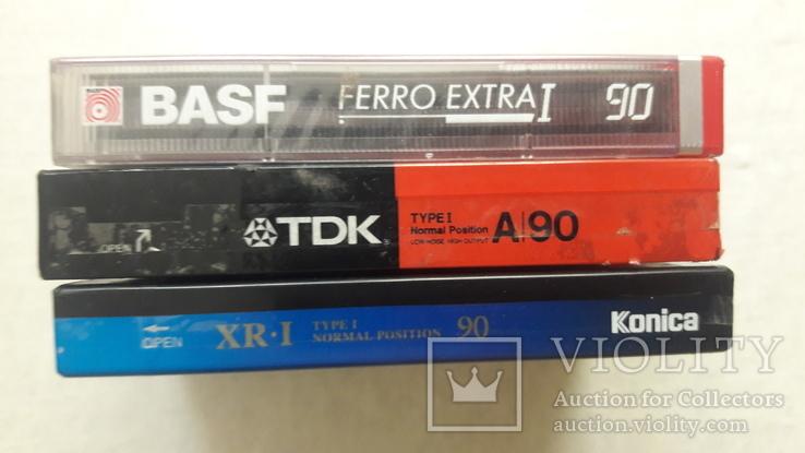 Аудио кассеты новые ТDK , BASF , Konika, фото №10