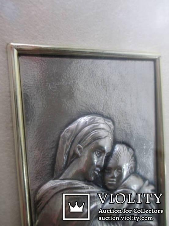 Икона Мадонна с ребенком. Италия. рама., фото №8