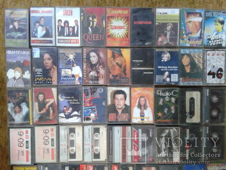 Аудіокасети 83 шт., фото №3