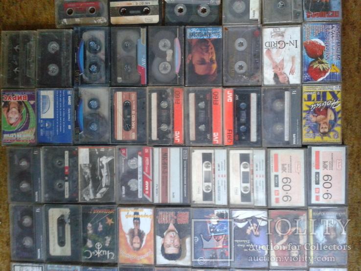 Аудіокасети 83 шт., фото №5