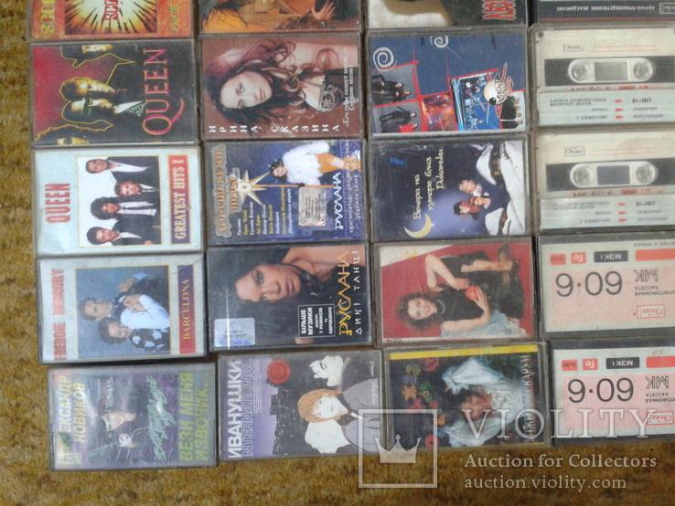 Аудіокасети 83 шт., фото №6
