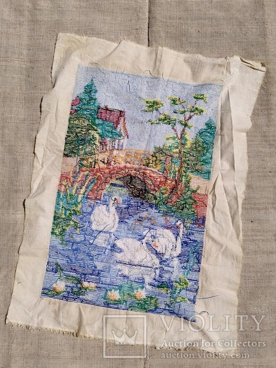 Картина лебеди, фото №3