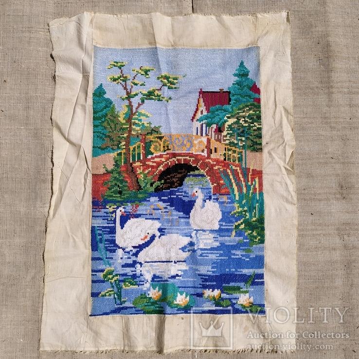 Картина лебеди, фото №2