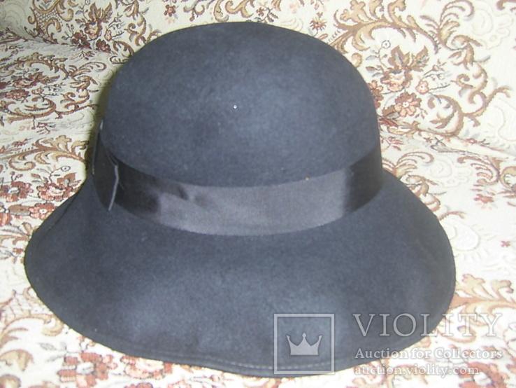 Шляпа женская шерсть тм Next Англия р.57, фото №3