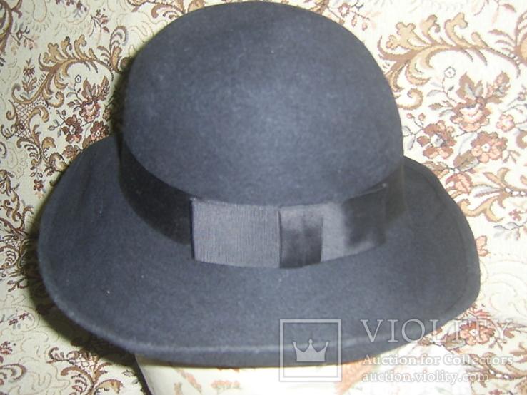 Шляпа женская шерсть тм Next Англия р.57, фото №4