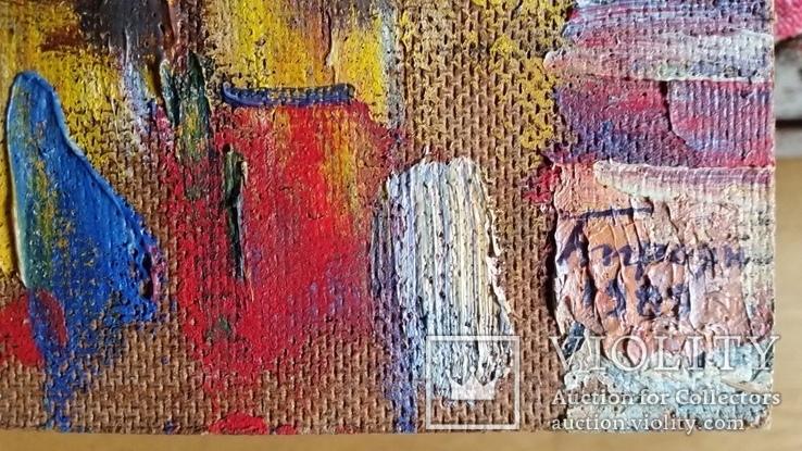 Троян Г. Місто Пятигорськ. Вид на Ельбрус, 1989р., 50х80 см, фото №7