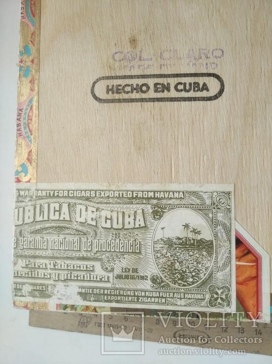 Коробка от сигар BOLIVAR Куба, фото №7