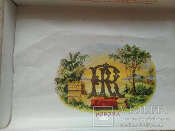 Коробка от сигар BOLIVAR Куба, фото №9
