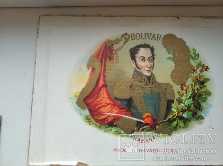 Коробка от сигар BOLIVAR Куба, фото №10