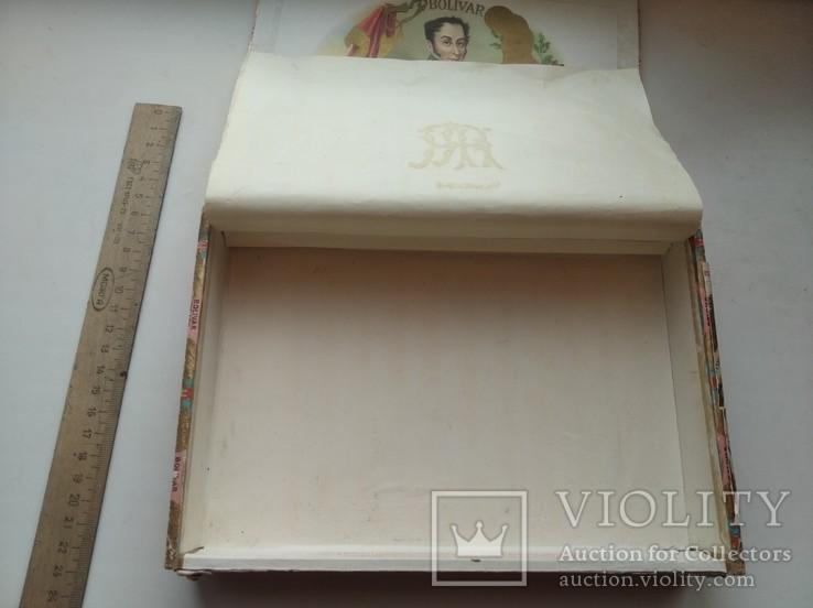 Коробка от сигар BOLIVAR Куба, фото №11