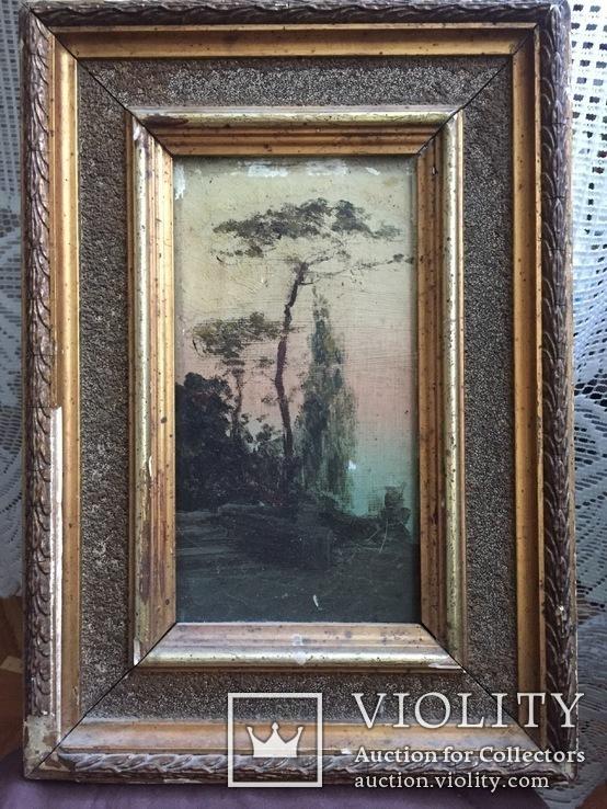 Картина «Дерево у моря», фото №2