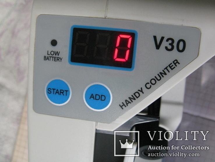 """Счетная машинка для денег """"Handy Counter"""" V30, фото №8"""