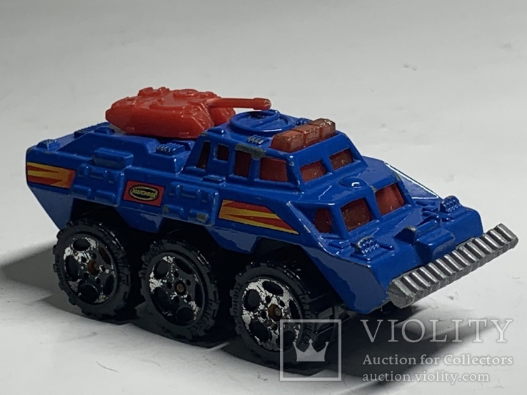 Matchbox Battering Ram 1993 6 Wheeled Vehicle