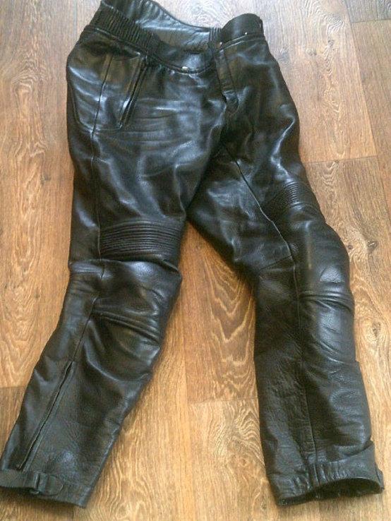 Защитные кожаные штаны, фото №2