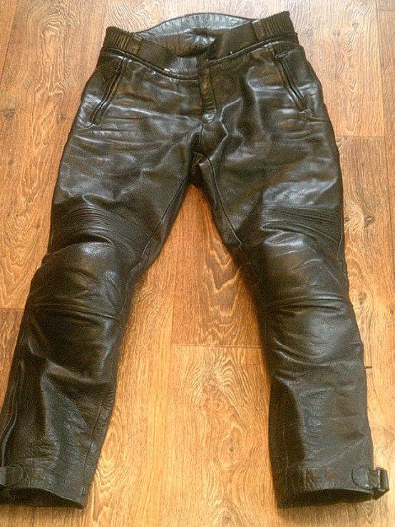 Защитные кожаные штаны, фото №4