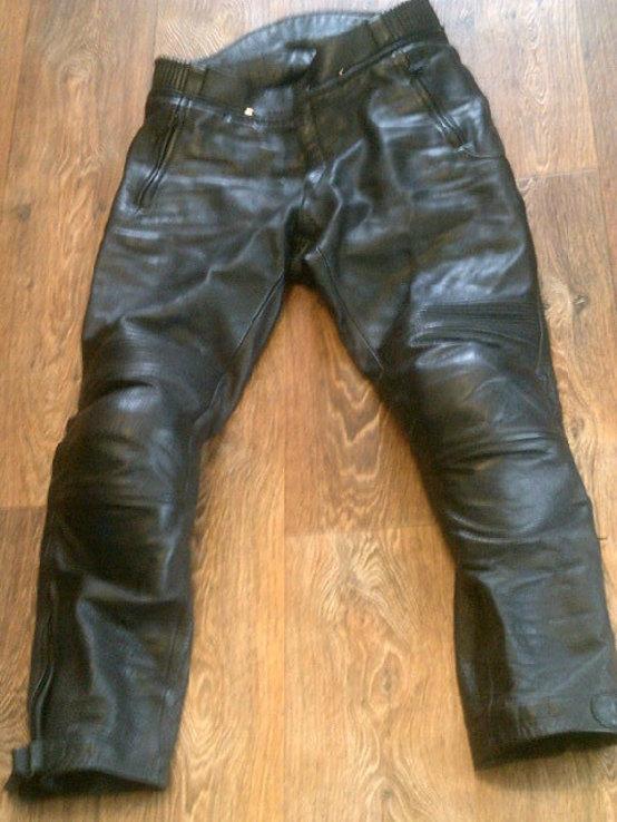 Защитные кожаные штаны, фото №3