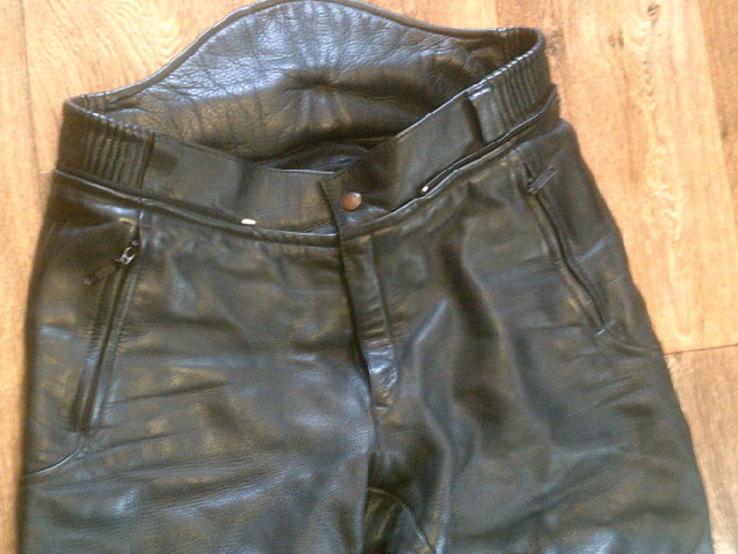 Защитные кожаные штаны, фото №6