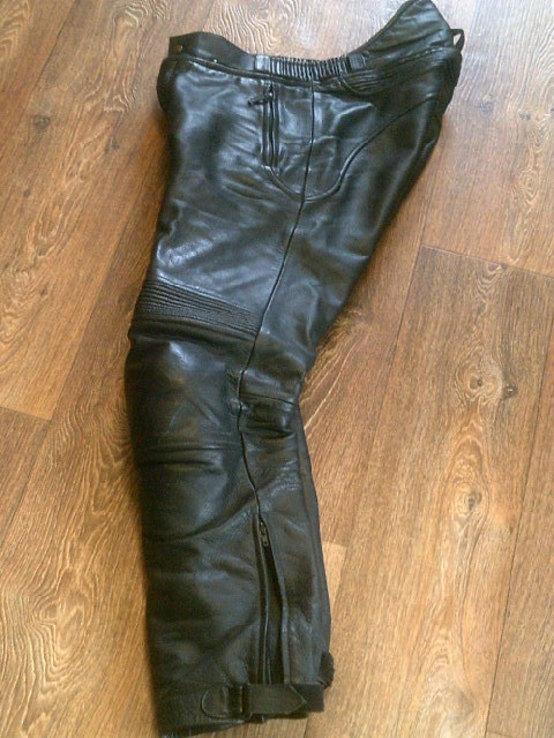 Защитные кожаные штаны, фото №10
