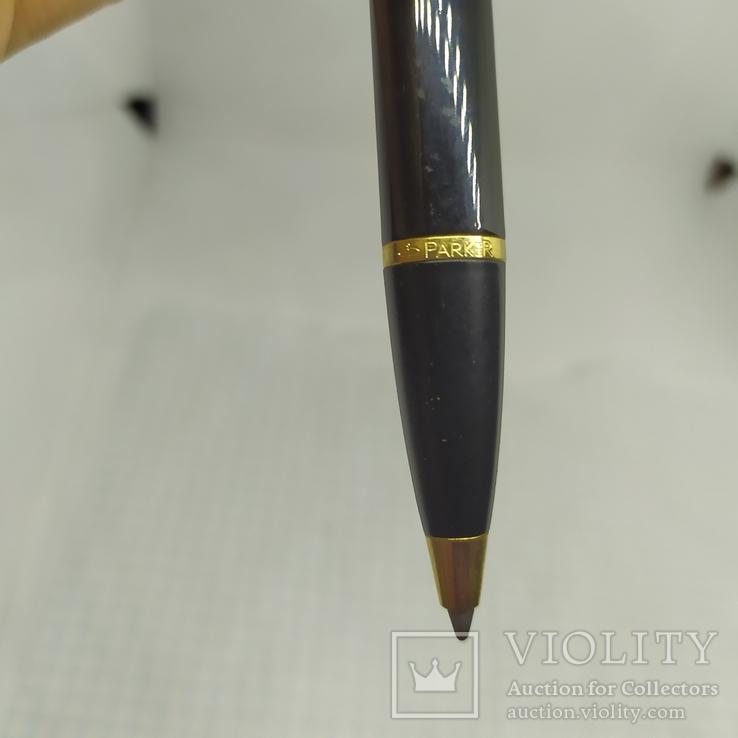 Ручка  шариковая Parker. Гравировка тризуба, фото №3