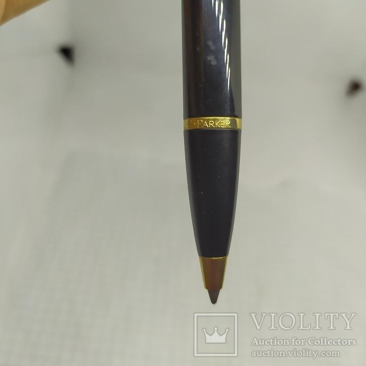 Ручка  шариковая Parker. Гравировка тризуба, фото №4