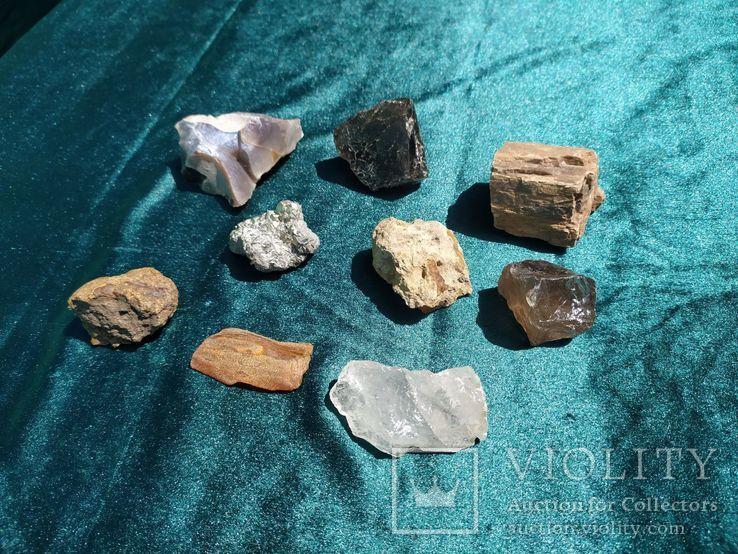 Ассорти минералы.