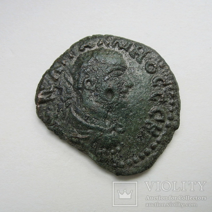 Галлиен, г. Гераклея Понтийская, АЕ (23 мм, 5,78 г), фото №4