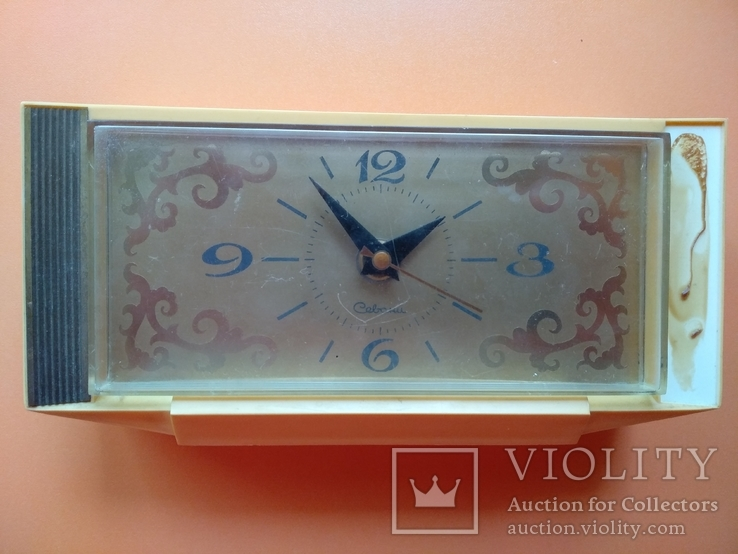 Часы настольные Савини, фото №2