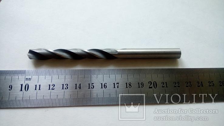 Сверло советское новое диаметр 9,2 мм ТИЗ HSS, фото №3