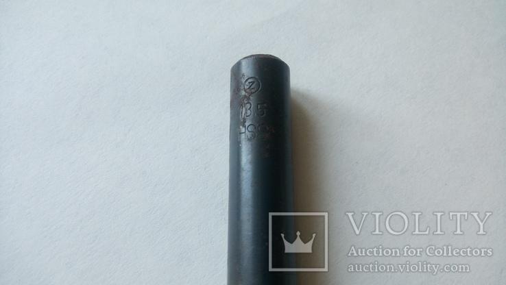 Сверло Чехословакия диаметр 13,5 мм новое, фото №7
