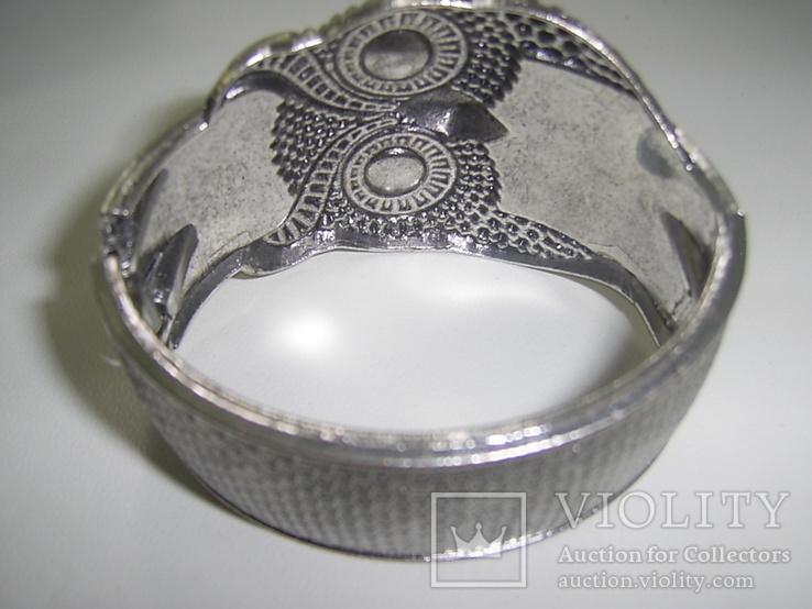 Браслет-краб  Сова символ мудрости, фото №8