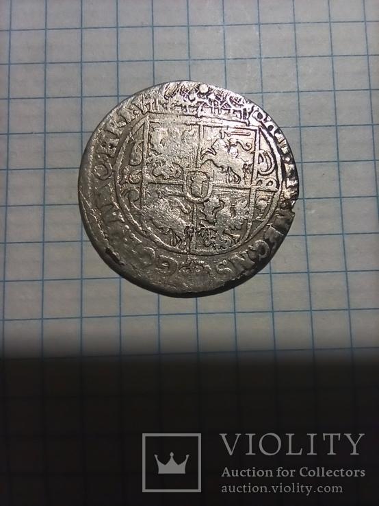 Коронный орт 1622 Речь Посполитая, Сигизмунд III Ваза, фото №4