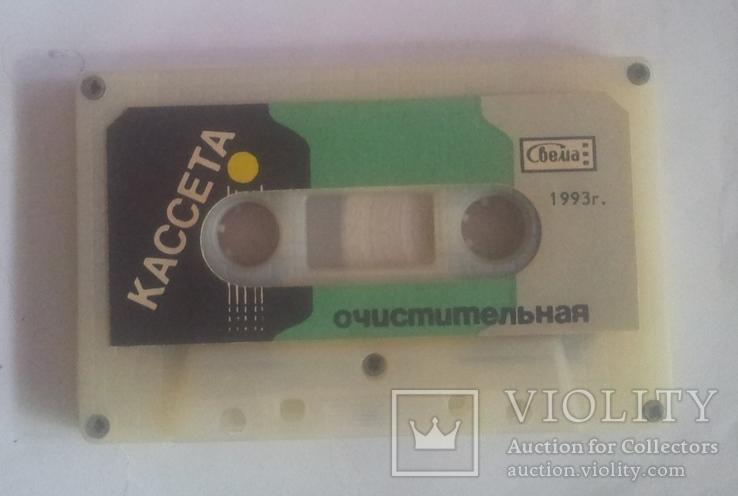 """Винтажная аудио-кассета""""Свема"""" очистительная. 1993г, фото №2"""
