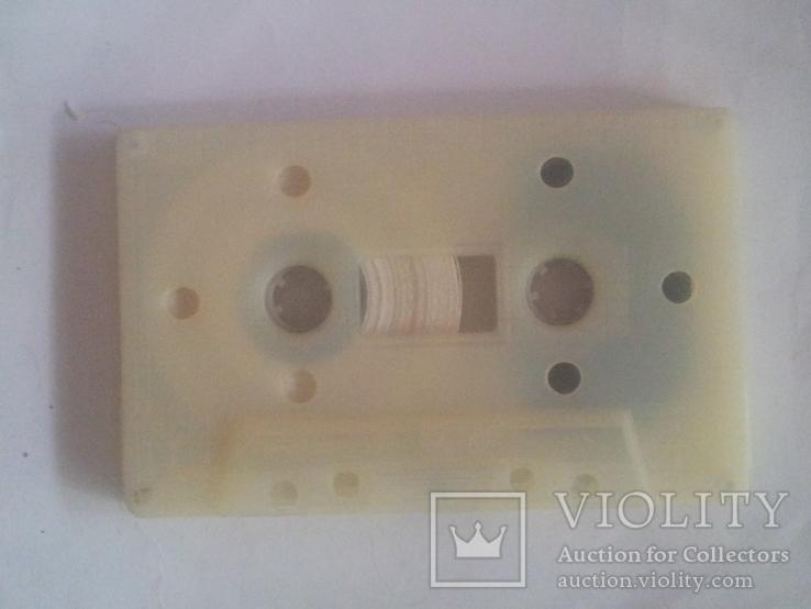 """Винтажная аудио-кассета""""Свема"""" очистительная. 1993г, фото №5"""