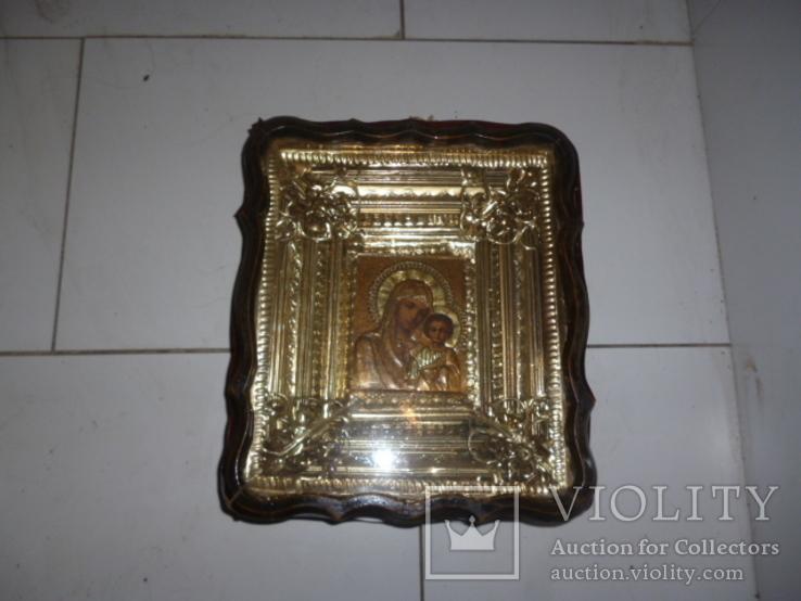 Икона Казанская Богородица 19 век. Жакко., фото №2
