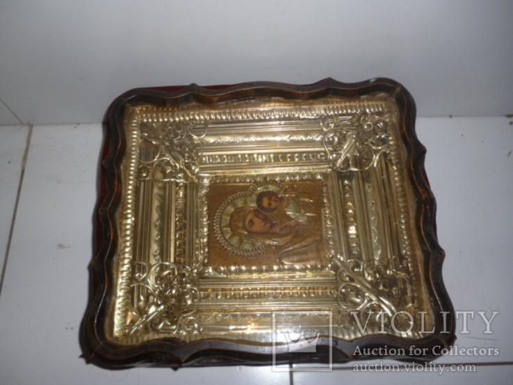 Икона Казанская Богородица 19 век. Жакко., фото №10