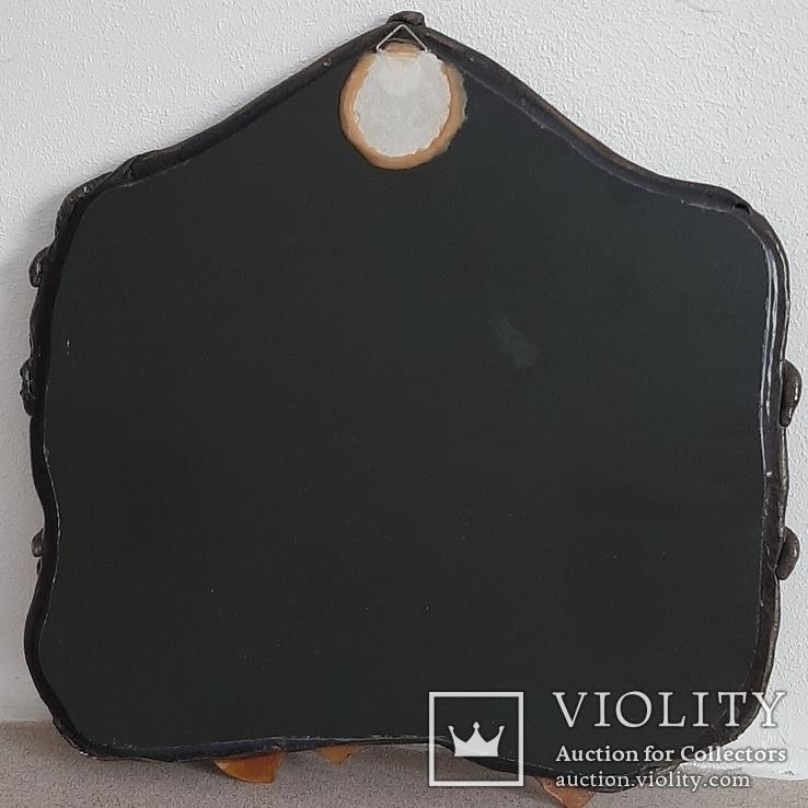 Зеркало настенное в керамической раме, фото №9