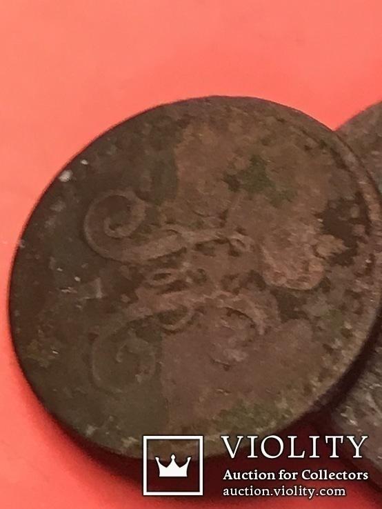 1 копейка серебром 1840 две шт ,1/2 копейка серебром 1840,1/ копейка серебром 1841 г., фото №8