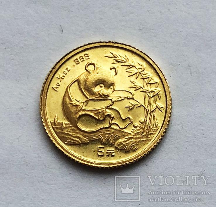 5 юаней 1994 года. Китай. Панда. 1/10 oz