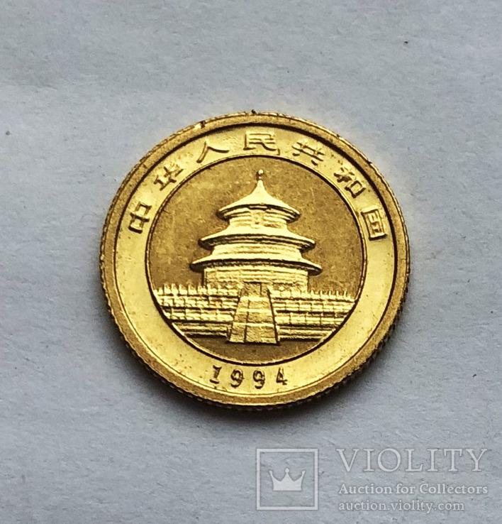 5 юаней 1994 года. Китай. Панда. 1/10 oz, фото №3