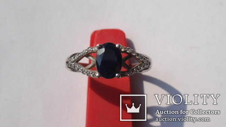 Кольцо Тропикана серебро, фото №3