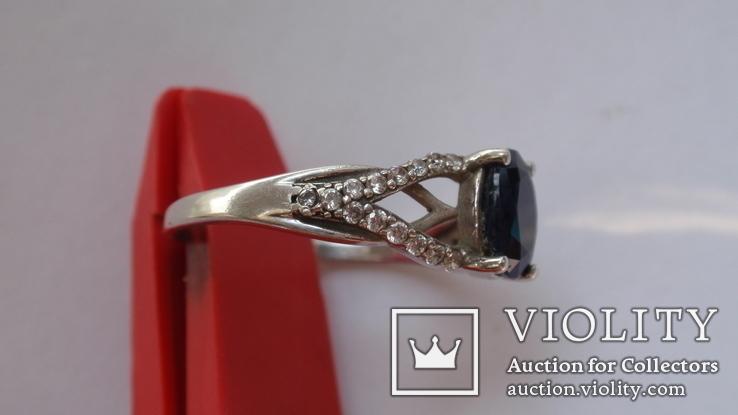 Кольцо Тропикана серебро, фото №5