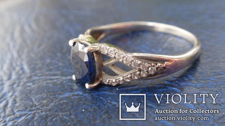 Кольцо Тропикана серебро, фото №7