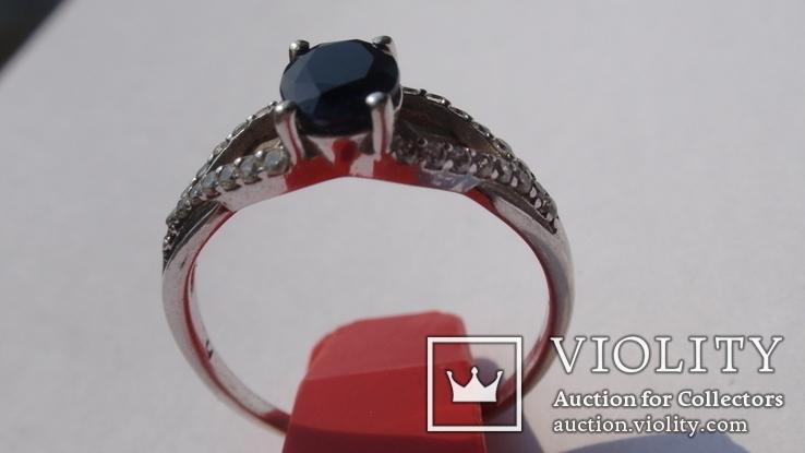 Кольцо Тропикана серебро, фото №13