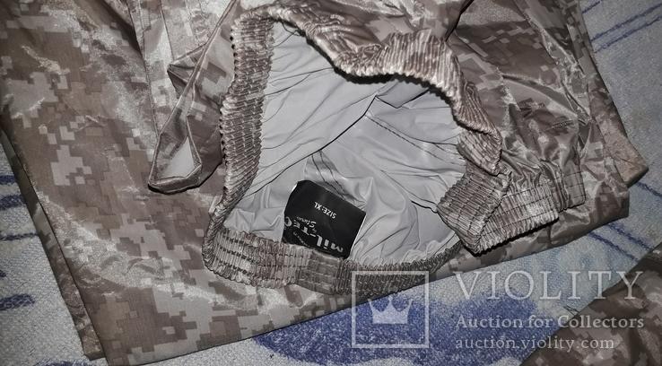 Камуфляжный плащовочный костюм новый!Размер XL, фото №3