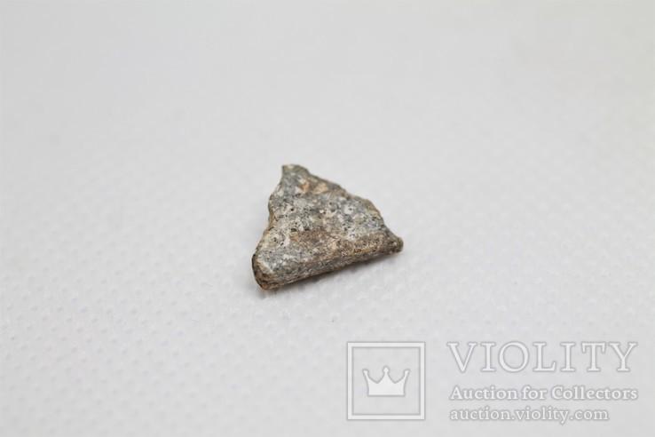 Кам'яний метеорит, ахондрит Acfer 353, 0.77 г., із сертифікатом автентичності, фото №4
