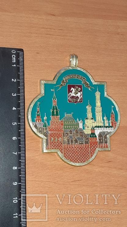 Жетон подвеска Москва 1654 год, фото №6