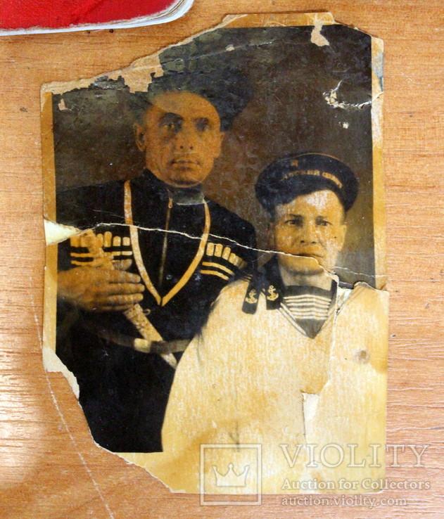 Военный билет+ орденская книжка+ фото=одним лотом., фото №6
