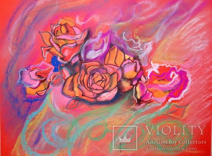 Розовое настроение а4